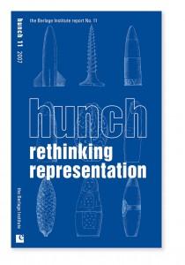 Cover Hunch No. 11  Theme; Rethinking Representation