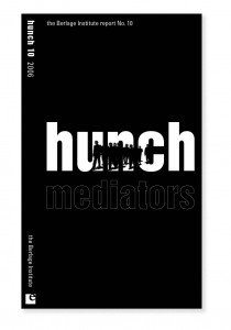 Cover Hunch No. 10 | Theme; mediators